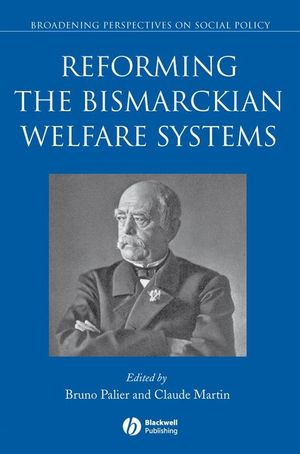 Reforming the Bismarckian Welfare Systems (1444306804) cover image