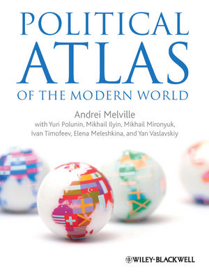 Political Atlas of the Modern World (1444335804) cover image