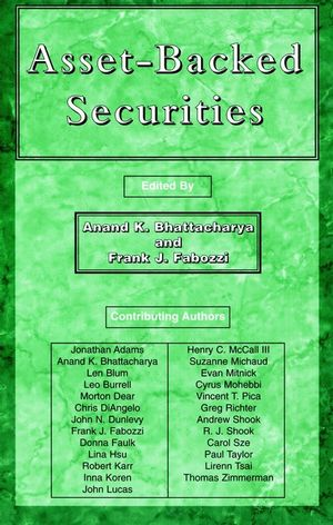 Asset-Backed Securities (1883249104) cover image