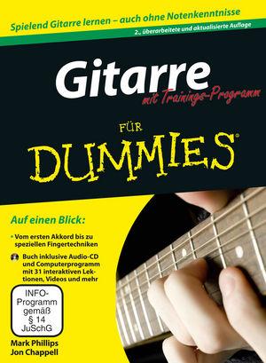 Gitarre für Dummies mit Trainings-Programm, 2. Auflage   Music ...