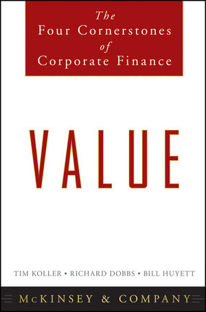 Book Cover Image for Value: The Four Cornerstones of Corporate Finance