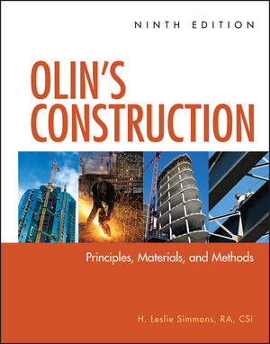 Olin's Construction: Principles, Materials, and Methods, 9th Edition