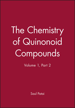 The Chemistry of Quinonoid Compounds, Part 2