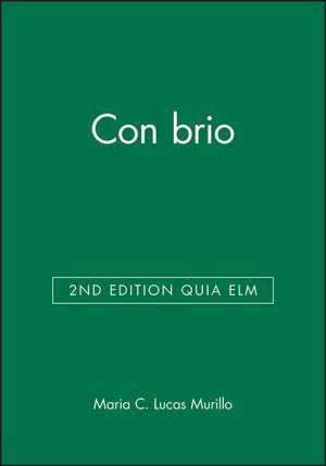 Con brio 2nd Edition Quia eLM