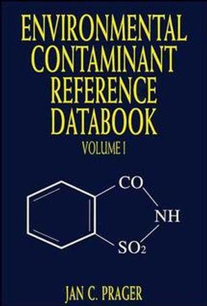 Environmental Contaminant Reference Databook, Volume 1