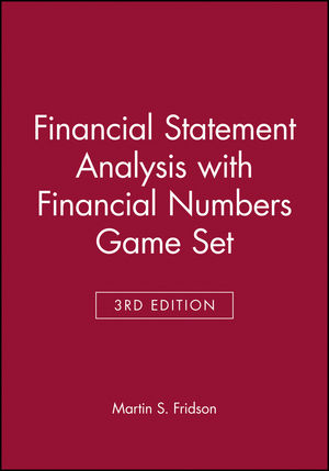 Financial Statement Analysis with Financial Numbers Game Set, 3rd Edition