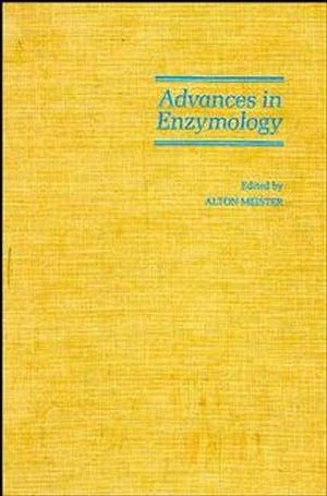 Advances in Enzymology and Related Areas of Molecular Biology, Volume 61 (0471818305) cover image