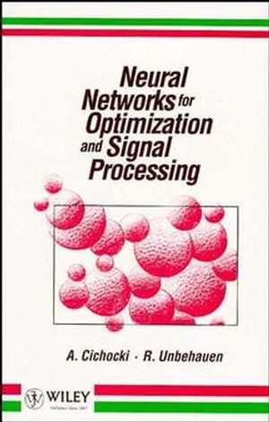 Neural Networks for Optimization and Signal Processing (0471930105) cover image