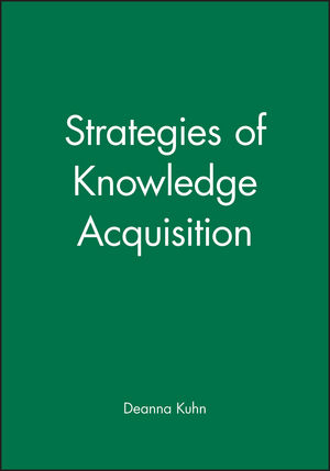 Strategies of Knowledge Acquisition (0631224505) cover image