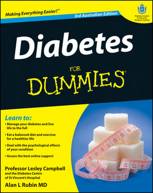 Diabetes For Dummies, 3rd Australian Edition