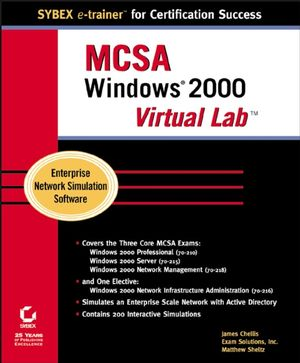 MCSA: Windows® 2000 Virtual Lab (0782130305) cover image