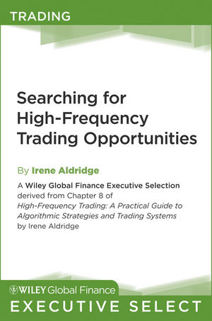 wiley searching for high frequency trading opportunities