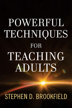 Powerful Techniques for Teaching Adults (1118017005) cover image