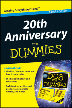 20th Anniversary For Dummies, Special Edition (1118066405) cover image