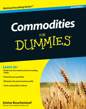 Commodities For Dummies, 2nd Edition (1118093305) cover image