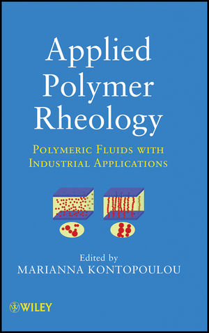 Applied Polymer Rheology: Polymeric Fluids with Industrial Applications (1118140605) cover image