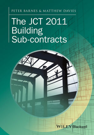 The JCT 2011 Building Sub-contracts (1118655605) cover image