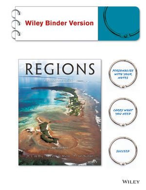 Geography: Realms, Regions, and Concepts, 16th Edition Binder Ready Version