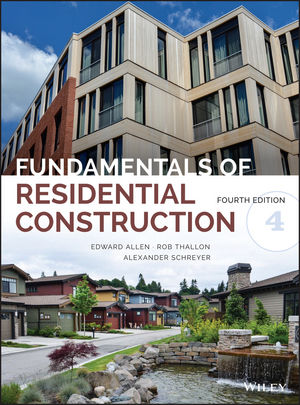 Fundamentals of Residential Construction, 4th Edition (1118978005) cover image
