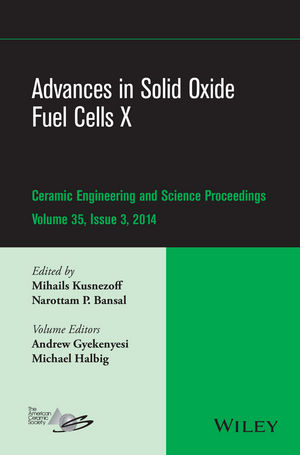Advances in Solid Oxide Fuel Cells X, Volume 35, Issue 3
