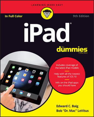 iPad For Dummies, 9th Edition (1119283205) cover image