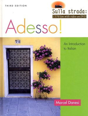 Adesso!: An Introduction to Italian, Student Text with Audio CD, 3rd Edition (EHEP000305) cover image