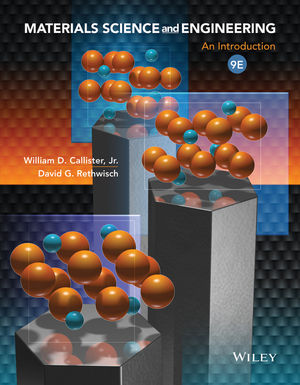 Materials Science and Engineering: An Introduction, 9th Edition (EHEP002505) cover image