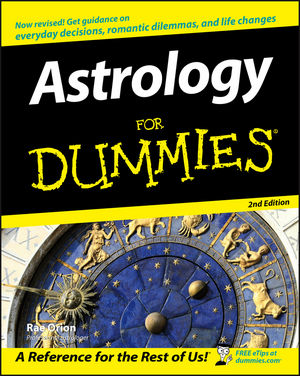 Astrology For Dummies, 2nd Edition (0470098406) cover image