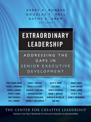 Extraordinary Leadership: Addressing the Gaps in Senior Executive Development (0470479906) cover image