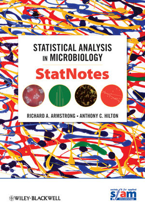 Statistical Analysis in Microbiology: StatNotes (0470559306) cover image