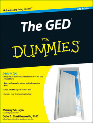 The GED For Dummies, 2nd Edition (0470570806) cover image
