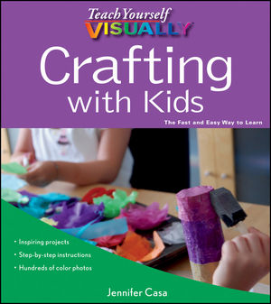 Book Cover Image for Teach Yourself VISUALLY Crafting with Kids