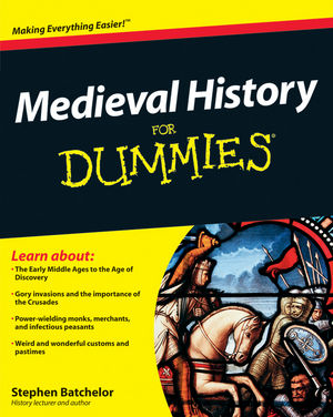 Medieval History For Dummies (0470664606) cover image