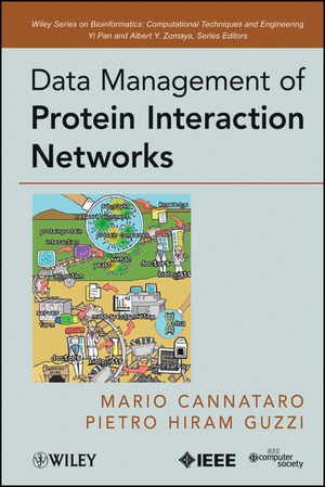 Data Management of Protein Interaction Networks (0470770406) cover image