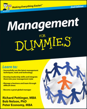 Management For Dummies, 2nd Edition (0470978406) cover image