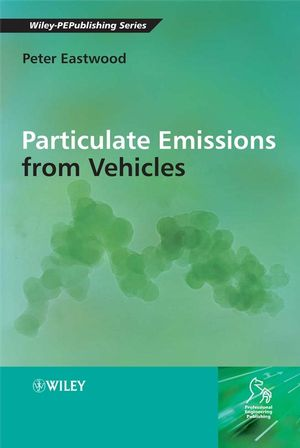 Particulate Emissions from Vehicles (0470986506) cover image