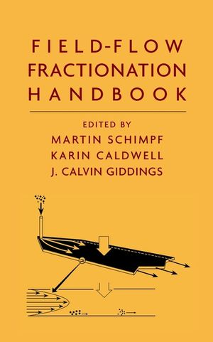 Field-Flow Fractionation Handbook (0471184306) cover image