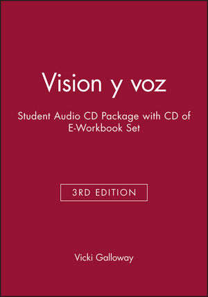 Vision y voz, 3e Student Audio CD Package with CD of E-Workbook Set