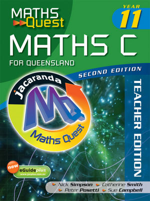 Maths Quest Maths C Year 11 for Queensland, Solutions Manual, 2nd Edition