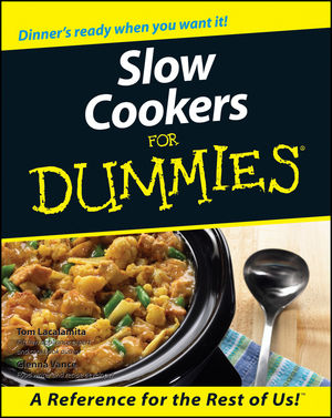 Slow Cookers For Dummies (0764552406) cover image