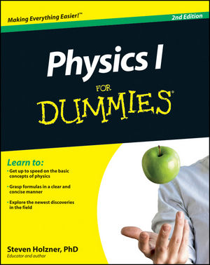 Physics I For Dummies, 2nd Edition (1118067606) cover image