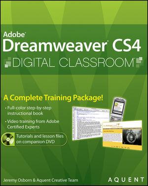 Dreamweaver CS4 Digital Classroom