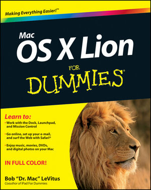 Mac OS X Lion For Dummies (1118159306) cover image