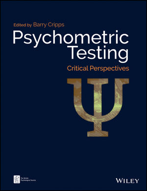 Psychometric Testing: Critical Perspectives (1119183006) cover image