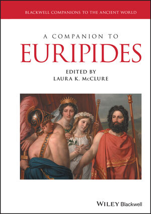 A Companion to Euripides (1119257506) cover image