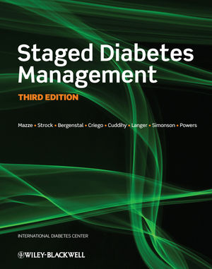 Staged Diabetes Management, 3rd Edition (1119950406) cover image