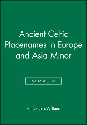 Ancient Celtic Placenames in Europe and Asia Minor, Number 39