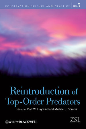 Reintroduction of Top-Order Predators (1405176806) cover image