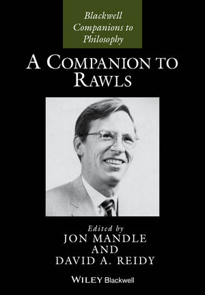 A Companion to Rawls (1444337106) cover image
