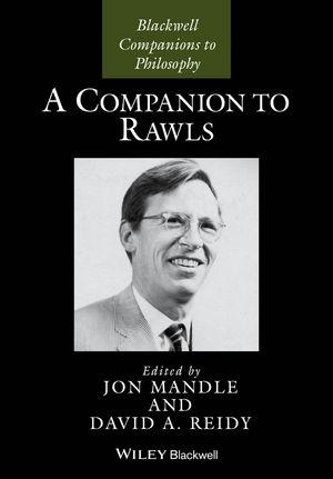 A Companion to Rawls (1444337106) cover image